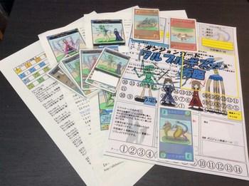 ゲームマーケット出店物ダンジョンカード「ワルプルギス再臨」セット.jpg